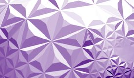 Futuristic background with lines and abstract low-poly, polygonal triangular mosaic background for web, presentations and prints. Stock Image