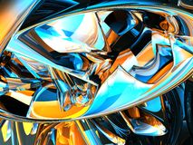 Futuristic background Royalty Free Stock Photos