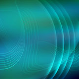 Futuristic background with neon lines Royalty Free Stock Photography