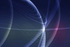 Futuristic background with neon lines Royalty Free Stock Photos
