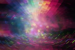 Futuristic background of the 80s retro style. Digital or Cyber Surface. neon lights and geometric pattern , test screen glitch. stock illustration