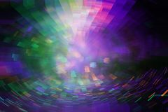 Futuristic background of the 80s retro style. Digital or Cyber Surface. neon lights and geometric pattern , test screen glitch. royalty free stock photo