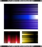 Futuristic Background Set Vector Royalty Free Stock Photo