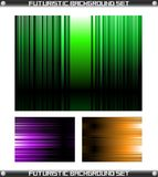Futuristic Background Set Vector Royalty Free Stock Photos