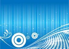 Futuristic background vector Stock Image