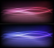 Futuristic Banners Royalty Free Stock Photo
