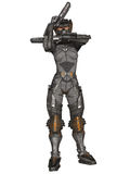 Futuristic Battle Suit Stock Image
