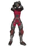 Futuristic Battle Suit Royalty Free Stock Photos