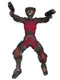 Futuristic Battle Suit Royalty Free Stock Image
