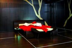 Futuristic Bedroom Stock Photo