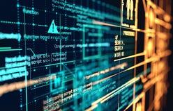 Futuristic Big Data Background stock photo