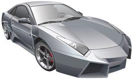 Futuristic bil vektor illustrationer