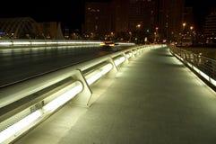 Futuristic bridge Royalty Free Stock Image