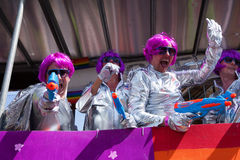 Futuristic at Brighton Gay Pride 2011 Stock Photography