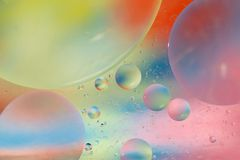 Futuristic Bubbles Background Royalty Free Stock Photography