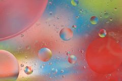 Futuristic Bubbles Background Stock Images
