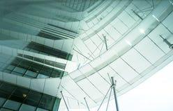 Futuristic building royalty free stock image
