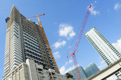 Futuristic Building Royalty Free Stock Photo
