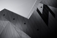 Futuristic building Stock Photography