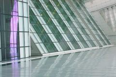 Futuristic Building Abstract Stock Photo