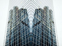 Futuristic building Royalty Free Stock Photo