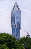 Futuristic Building in Shanghai China Stock Photography