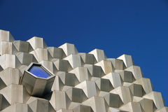 Futuristic Building detail Stock Photo