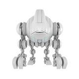 futuristic bundit robotic för varelse royaltyfri illustrationer