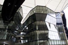 futuristic byggande Arkivbilder