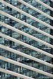 futuristic byggnadsaffär Arkivfoto