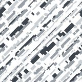 Futuristic Camouflage Vector Seamless Pattern vector illustration