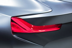 Futuristic Car Detail Stock Images