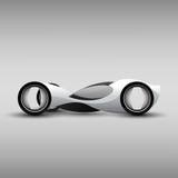 Futuristic Car Stock Image
