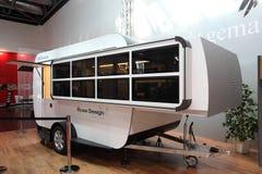 Futuristic caravan Royalty Free Stock Images