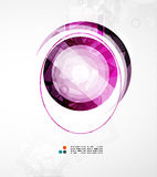 Futuristic circle abstract background Royalty Free Stock Image