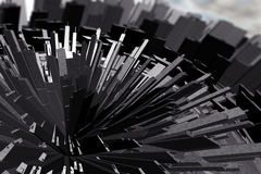 Futuristic City Royalty Free Stock Image
