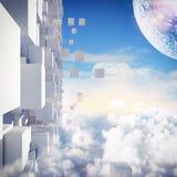 Futuristic city Royalty Free Stock Photography