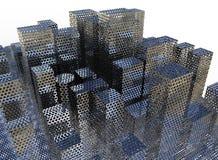 Futuristic city concept Stock Image