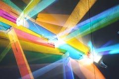 Futuristic colorful background Stock Image