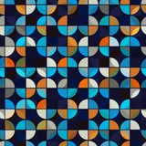 Futuristic colorful geometric background, vector bright abstract Royalty Free Stock Image