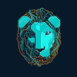 The Lion vector illustration