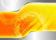 Futuristic computer background Stock Image