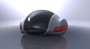 Futuristic concept car Royalty Free Stock Photography
