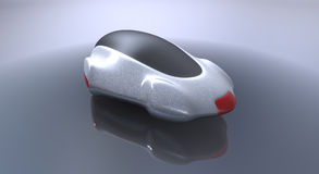 Futuristic concept car Royalty Free Stock Photos