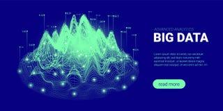 Futuristic Concept of Quantum Technology. stock illustration