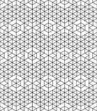 Futuristic continuous contrast pattern, illusive motif abstract Royalty Free Stock Photography