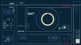 Futuristic control panel and scifi controls