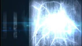 Futuristic control panel and scifi controls stock video