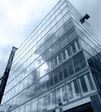 Futuristic corporate building Royalty Free Stock Images