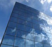 Futuristic corporate building Stock Image